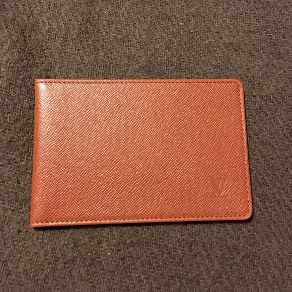 c100a20d24e9 Louis Vuitton Other - LV taiga leather card holder